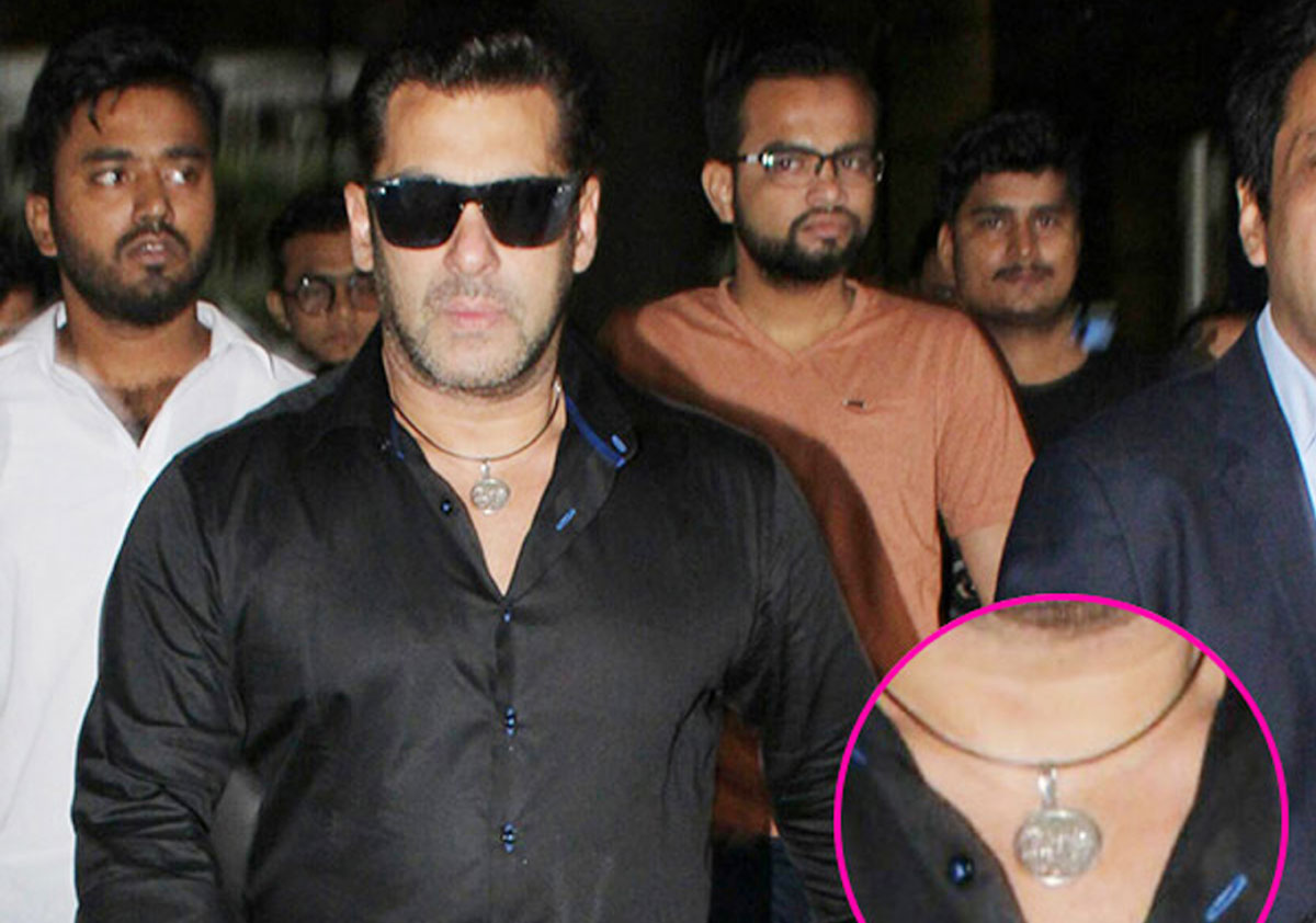 Did salman khan remove his lucky bracelet due to 'fused tubelight
