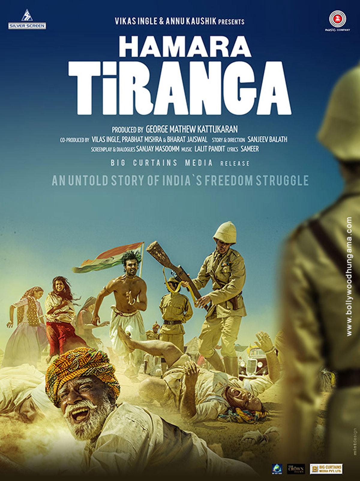 Hamara Tiranga (2018) 700MB DVDScr Hindi Movie 720p ESubs